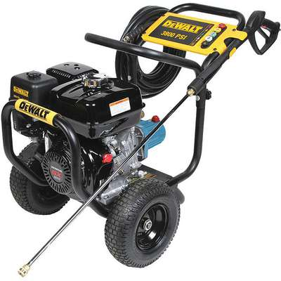 Industrial Duty (3300 psi and Greater) Gas Cart Pressure Washer, Cold Water Type, 3.5 gpm, 3800 psi