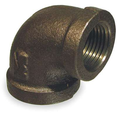 "Reducing Elbow, 90°, FNPT, 1-1/2"" x 1-1/4"" Pipe Size - Pipe Fitting"