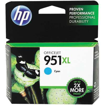 HP Ink Cartridge, No. 951XL, Cyan
