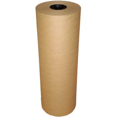 "Poly Coated Kraft Paper, 50/10 lb. Basis Weight, 600 ft. Length, 48"" Width, Natural Color"