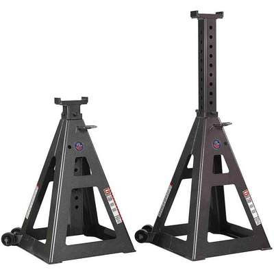 13 Pin Style Tall Vehicle Stands; Lifting Capacity (Tons): 35, 1 PR