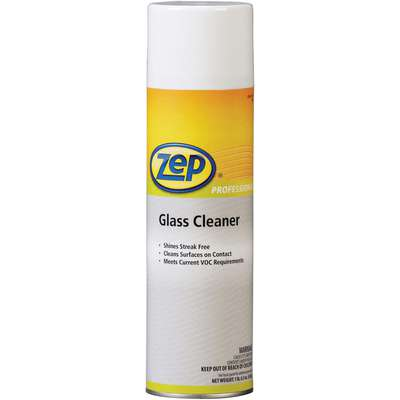 Zep Professional® Glass Cleaner, 18 oz. Aerosol Can, Flammable