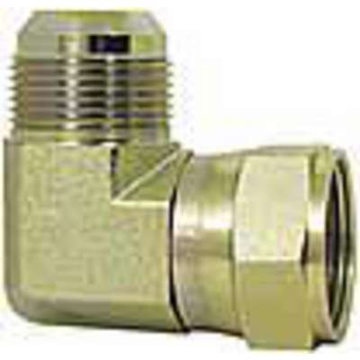 JIC 90° Swivel Nut Elbow with JIC Fitting Connection Type and 6000 psi Max. Pressure, 5/8""
