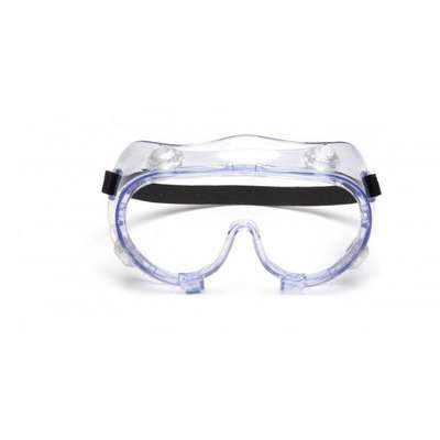 Pyramex?, Anti-Fog/Chemical Splash Protective Goggles, Clear Lens