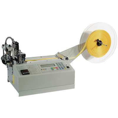 "Non-Adhesive Hot Material Cutter, Max. Cutting Width 3.54"", Feed Speed 21"" per sec."