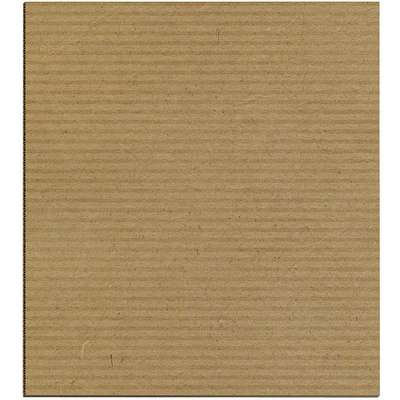 "Kraft Brown Corrugated Sheet, 72"" Length, 40"" Width"