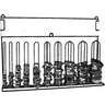 steel clamp rack