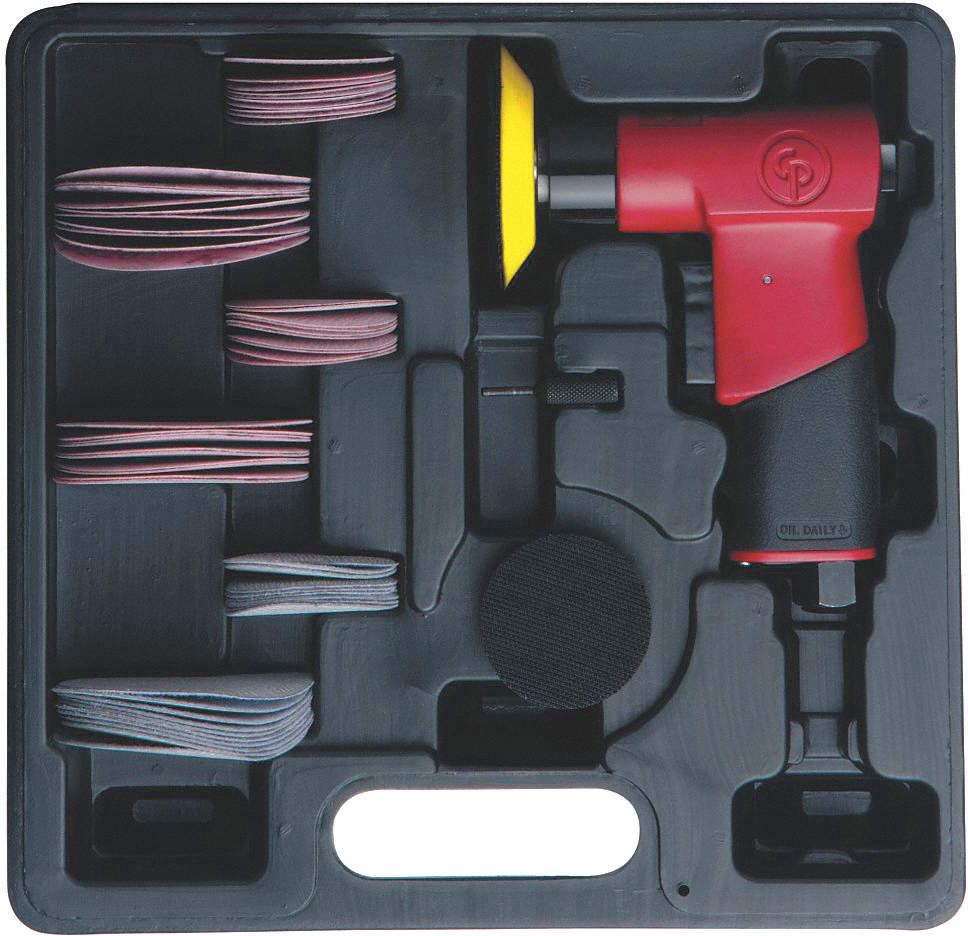 Air Sander Kit,2 And 3In Pad,