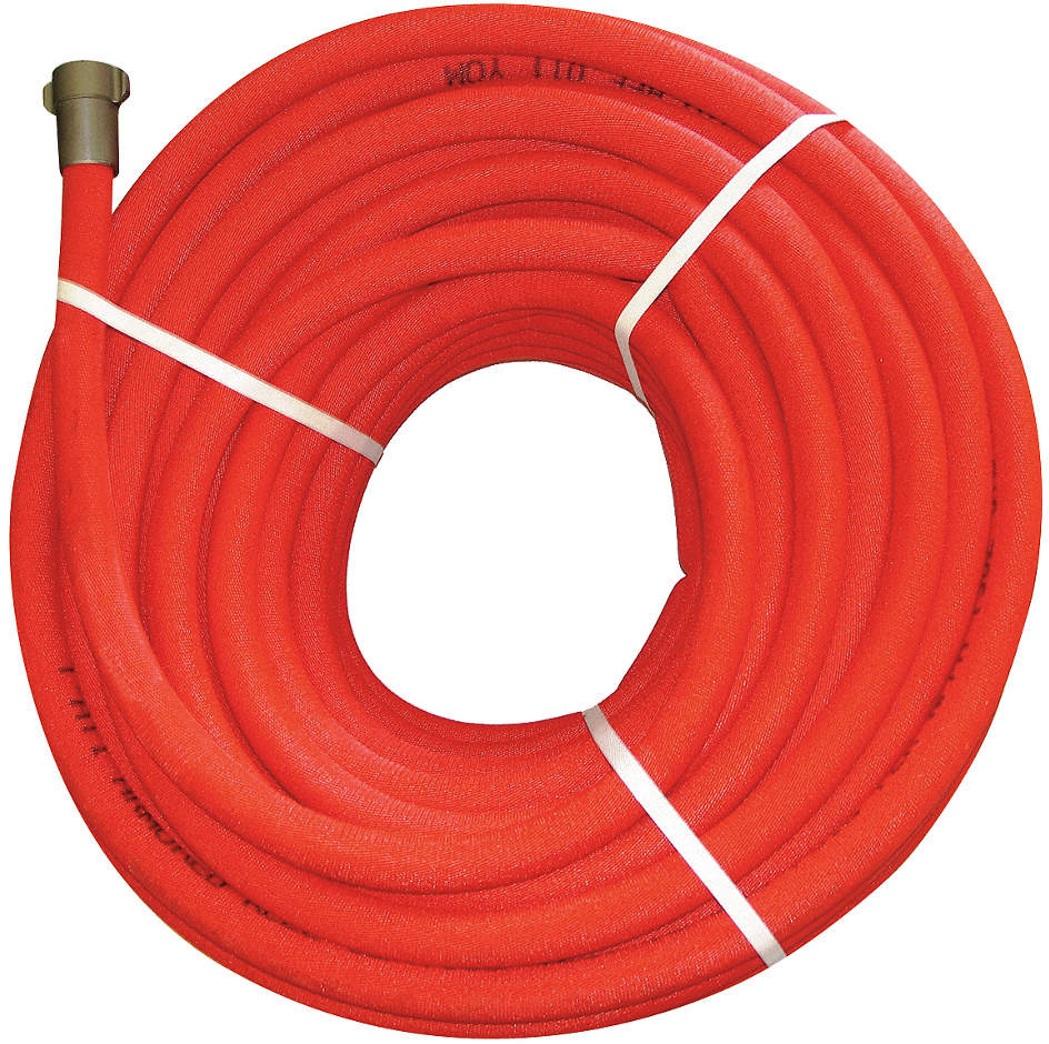 Booster Fire Hose,100 Ft. L