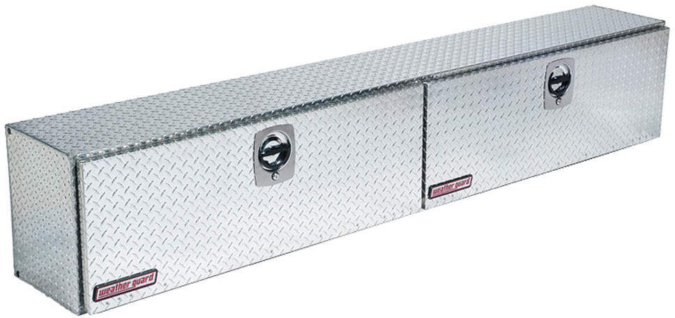 Topside Truck Box,Silver,96-1/