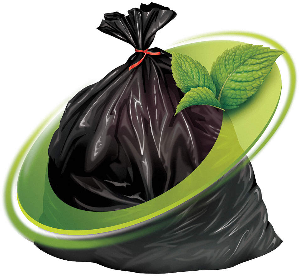 Trash Bag,38 Gal,Lldpe,Black,