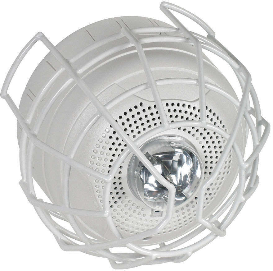 9-Ga Wire Cage Protects Horn/