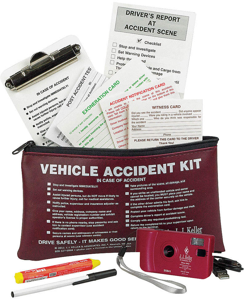 Accident Report Kit,Audit/