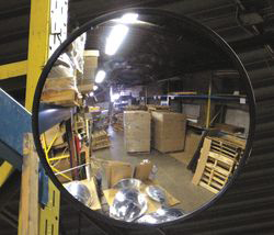 Indoor Convex Mirror,12 Dia,