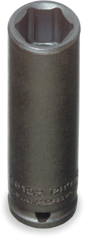 Impact Socket,1/4 In Dr,7/16