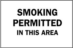 Sign,10x14,Smoking Permitted