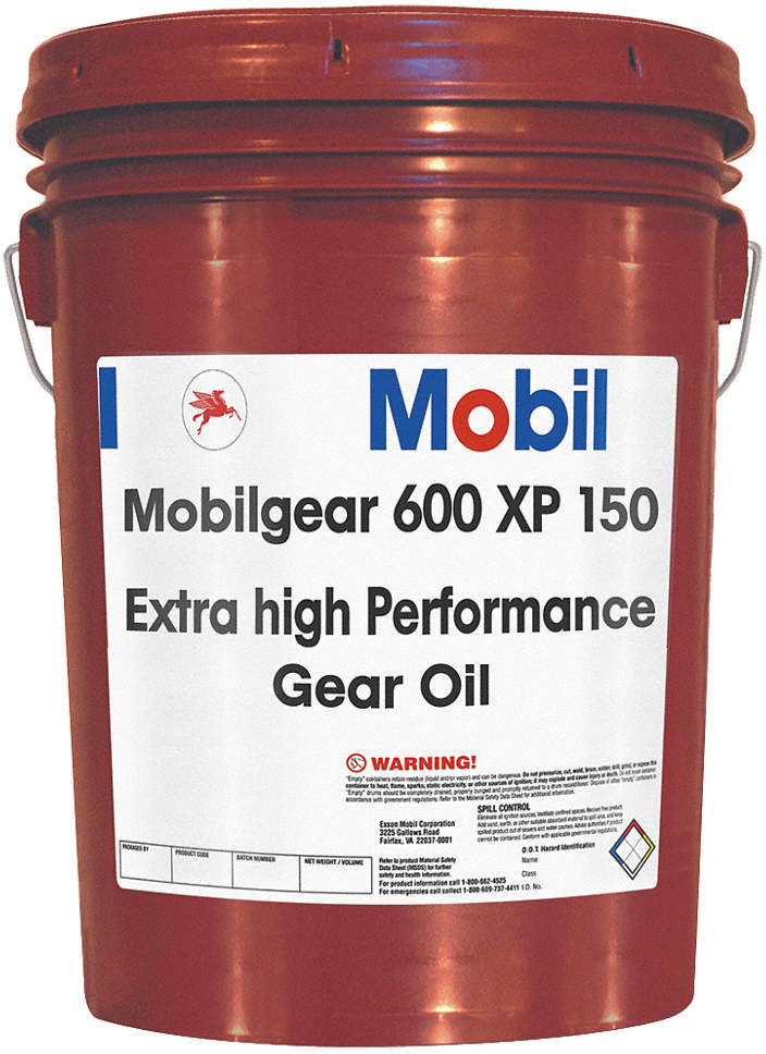 Mobilgear 600 Xp 150, Gear Oil,