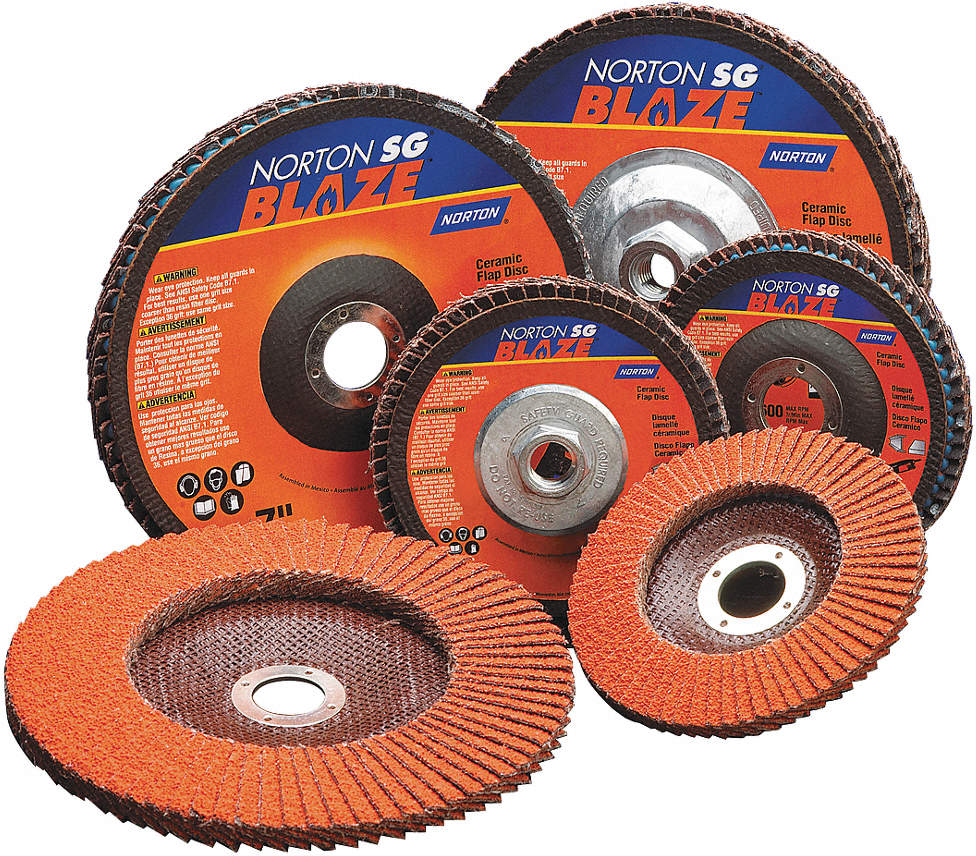 Arbor Mount Flap Disc,4-1/2in,