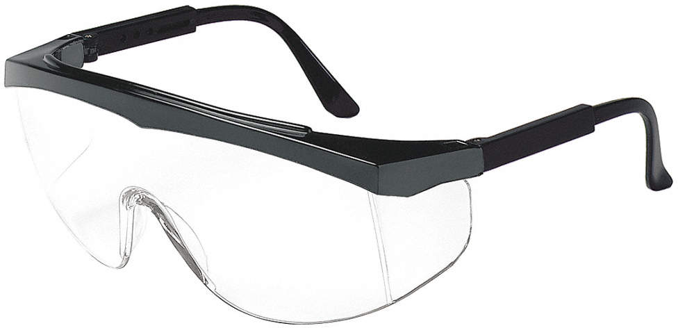 Safety Glasses,Clear,Scratch-