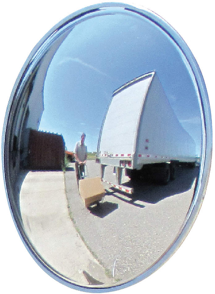 Wide View Convex,24 In.,52 Ft.