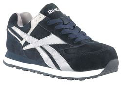 Athletic Shoes,Steel Toe,Navy,