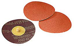 Cloth Disc,3 In,100 Grit,963G,Pk 200