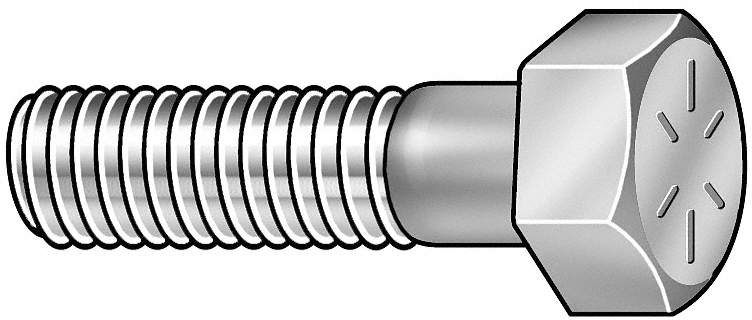 Hex Cap Screw,GR 8,1-1/2-6x5