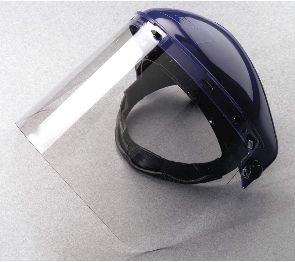 Faceshield Visor,Polycarb,Clr,