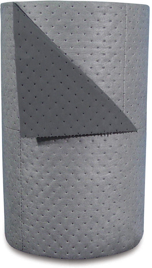 Absorbent Roll,Gray,63 Gal.,30