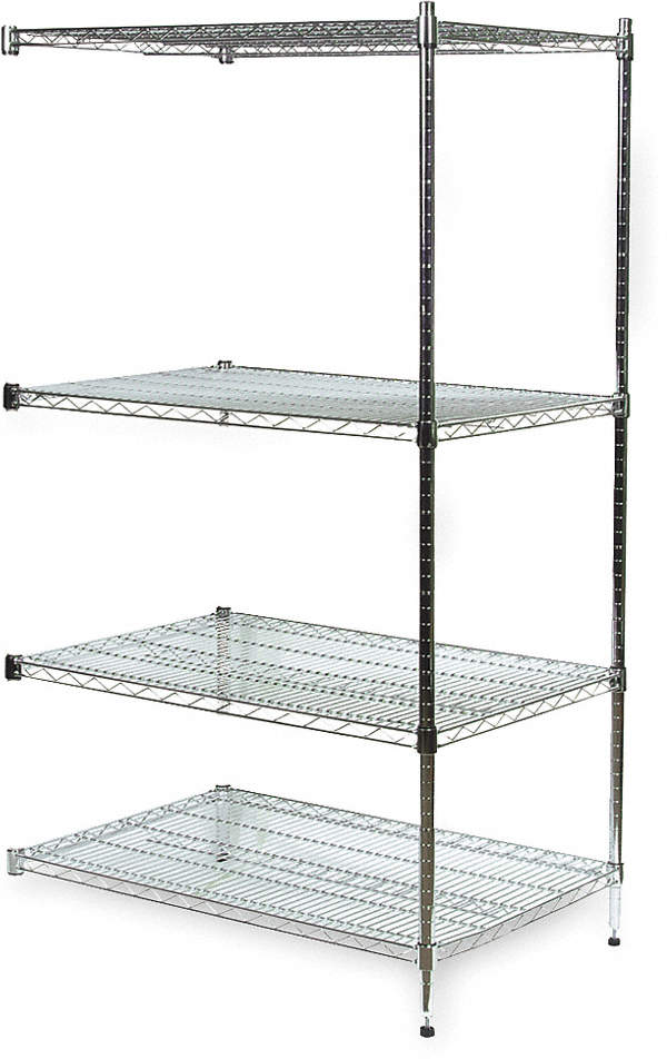 Shelving,Add-On,H 63,W 60,D 18,