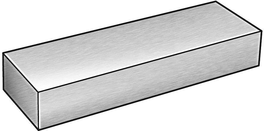 "Steel Flat Bar Stock  1//8/"" x 1-1//2/"" x 6 ft Rectangular Unpolished 1018 Alloy"
