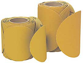 Paper Disc Roll,5 In D,60 Grit,PK400