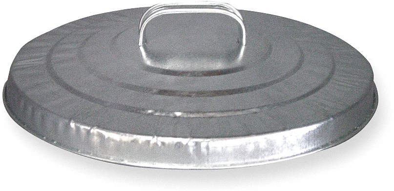 Round Container Lid,21 In Dia