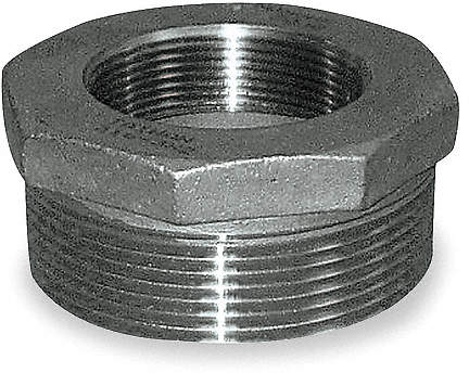 Hex Bushing,2 1/2 x 2 In,