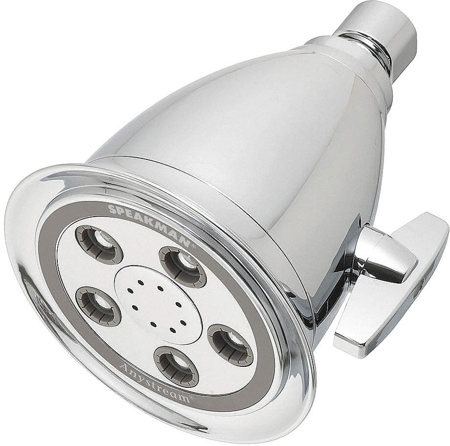 Showerhead,Wall Mount,50 Spray