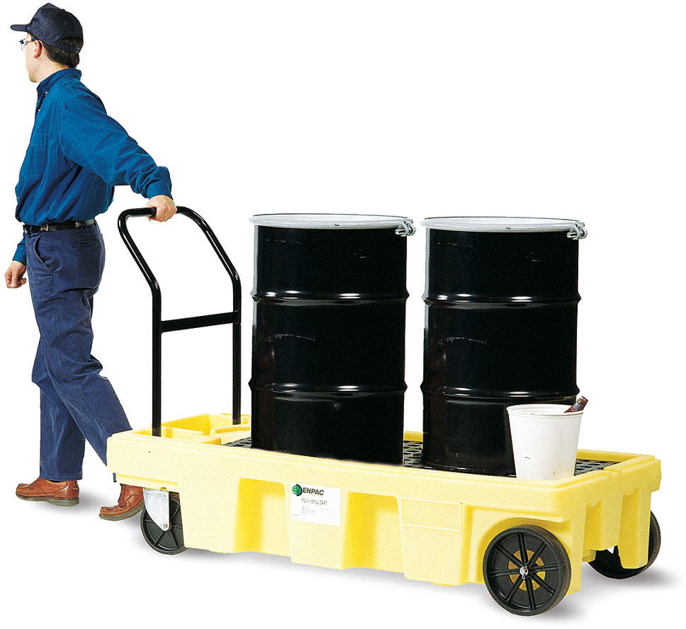 Drum Spill Platform Cart,