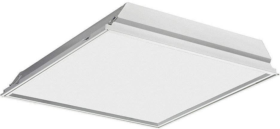 LED Recessed Troffer,3500K,21W,