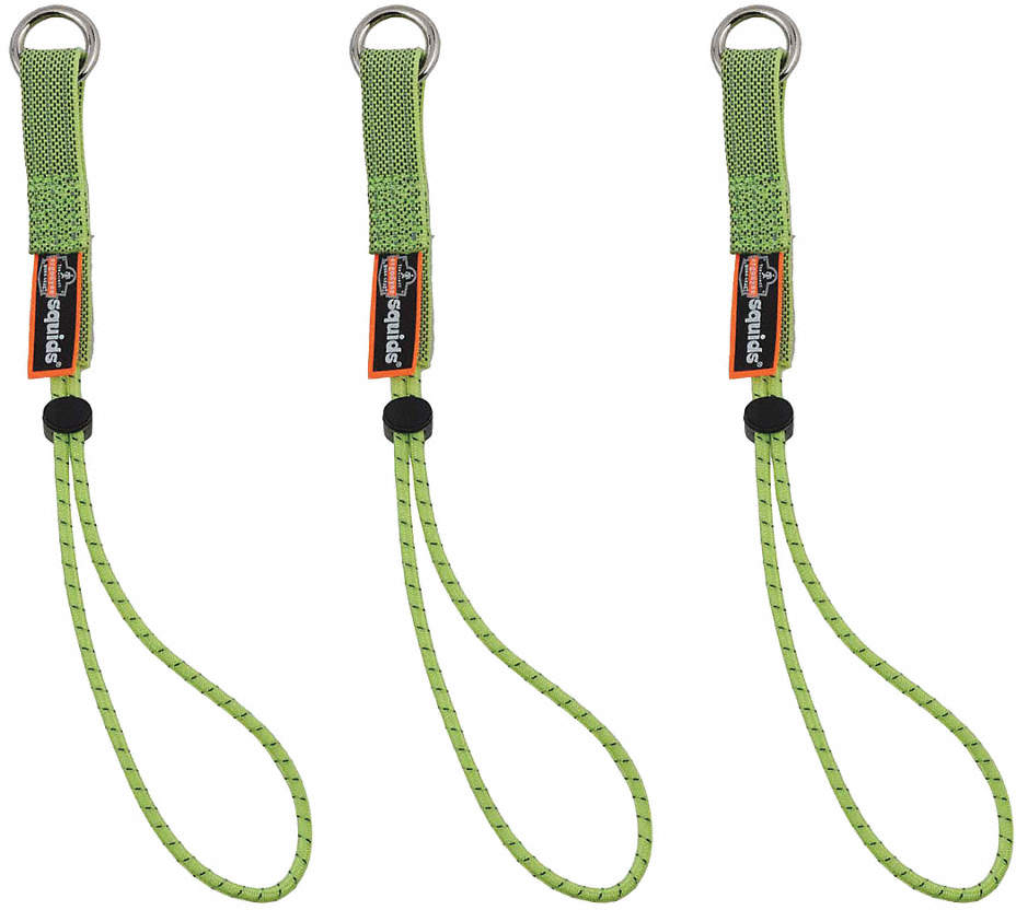 Tool Tails,15 Lb.,Lime,11In,PK3
