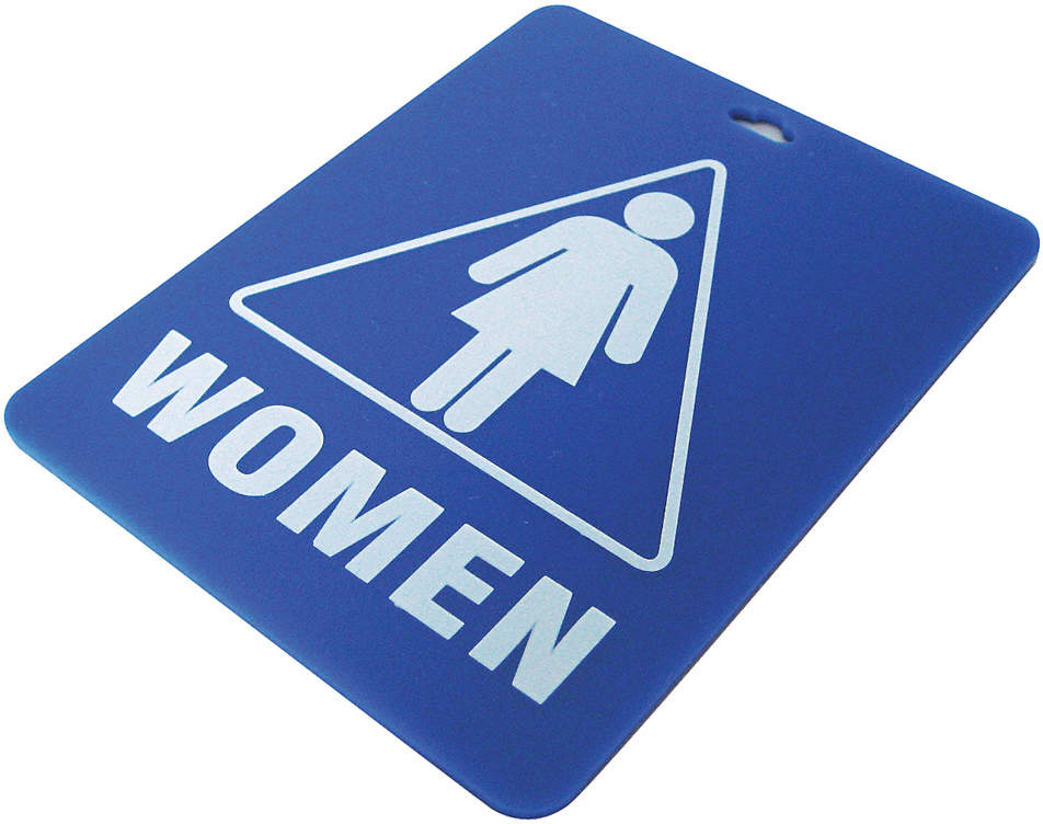 Restroom Key Tag,Women
