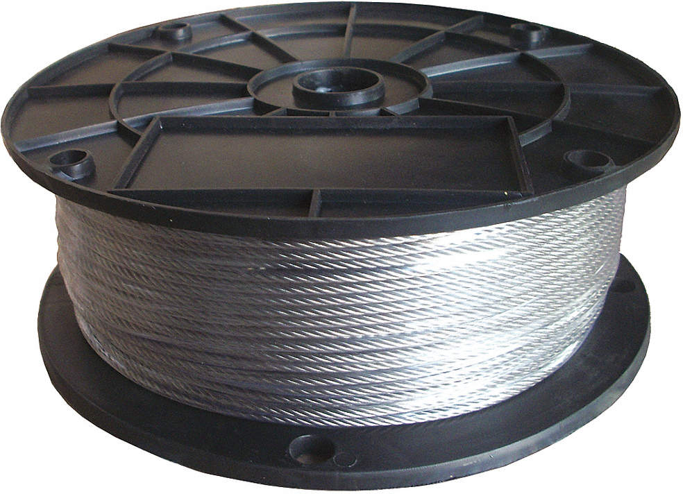 Cable,3/32 In.,250 Ft.,7 x 7,SS