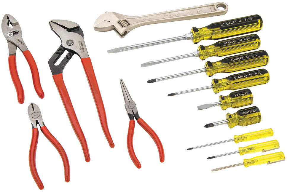 General Hand Tool Kit,No. Of