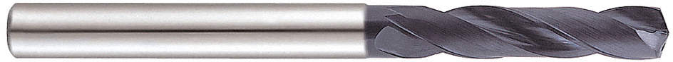 Carbide Drills,1/4in.,Flute 1-