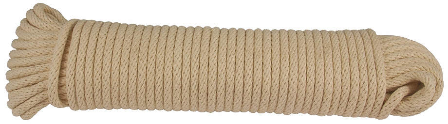 Rope,Cotton,5/32in Dia,100 Ft.