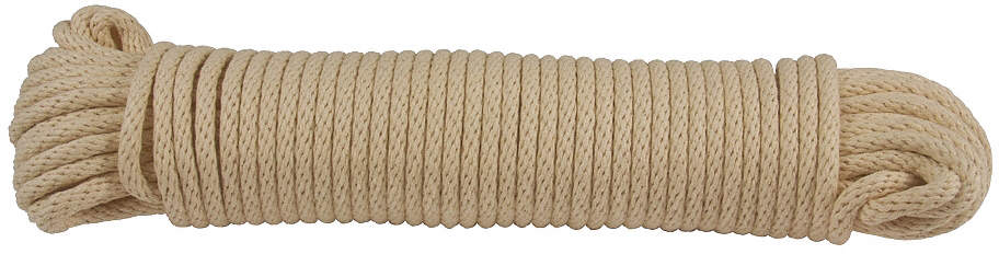 Rope,Cotton,1/4in Dia,100 Ft.
