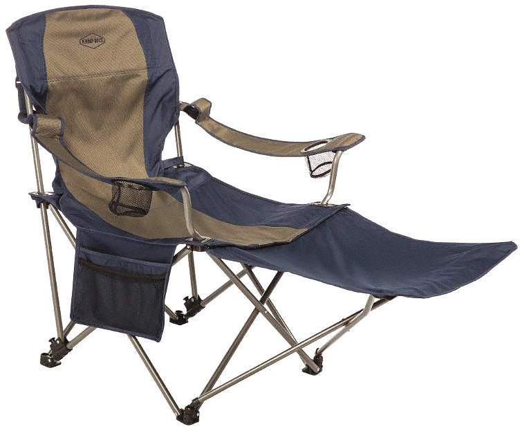 Chair,Blue/Gray,49 In. L x 37