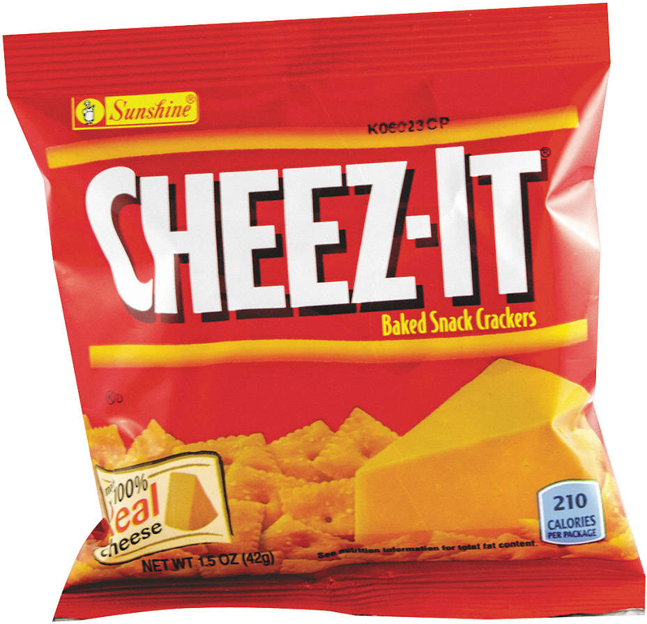 White Cheddar Crackers,1.5 Oz.,