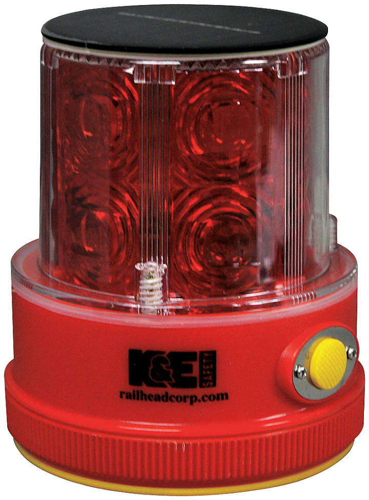 Rechargeable Safety Light,Red,