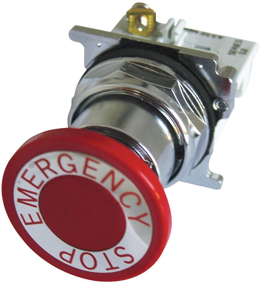Emergency Stop Push Button,Red