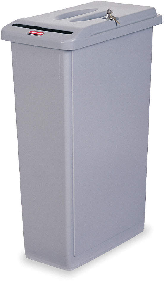 Confidential Waste Container,