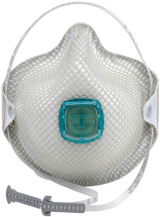 Disposable Respirator,N100,M/L,